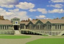 oracoke island school image
