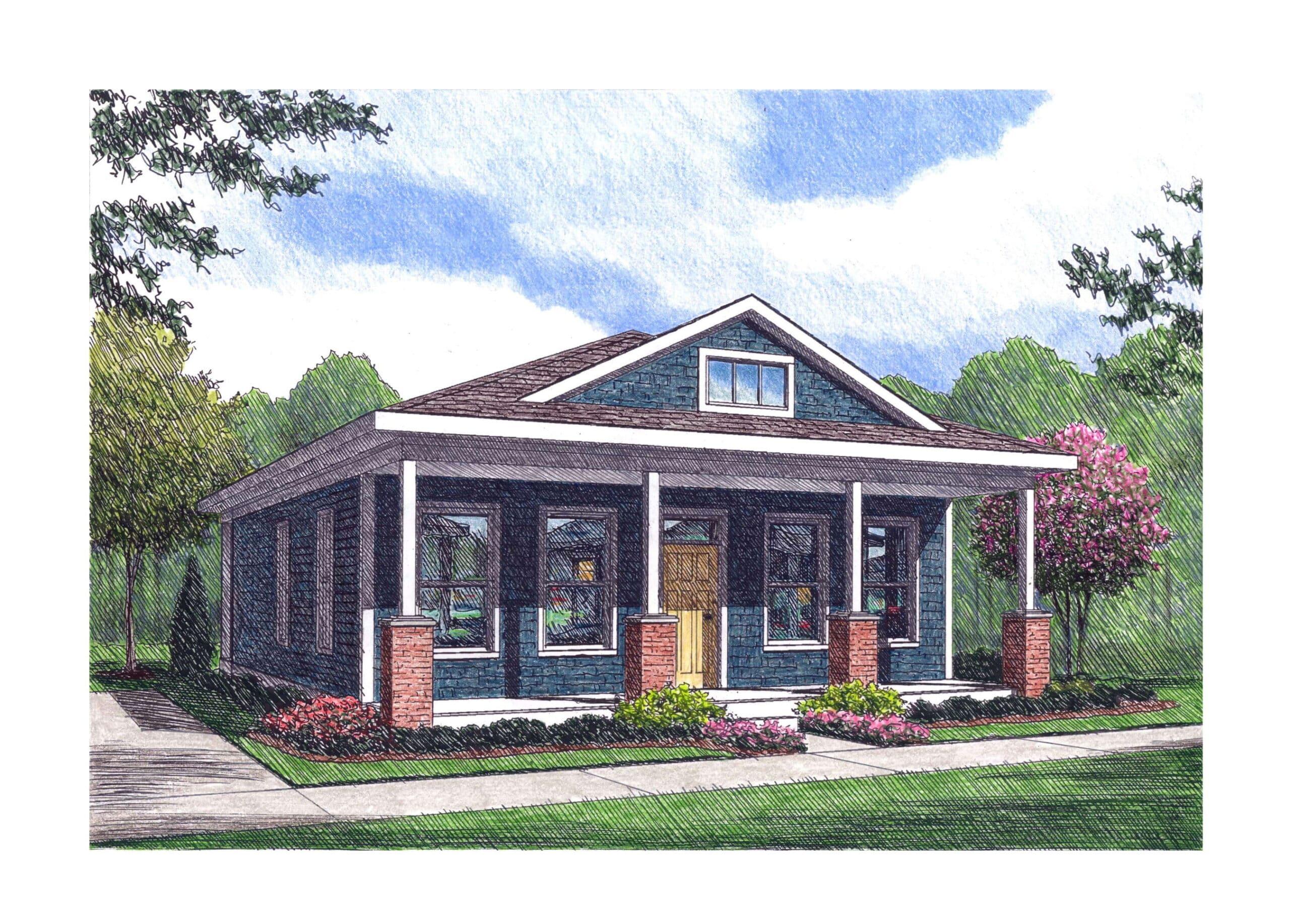 Single family rental cottage
