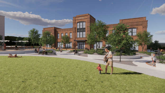 pineview town hall rendering
