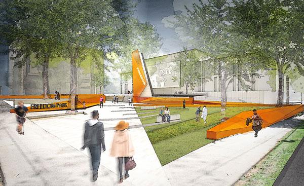 North Carolina Freedom Park rendering