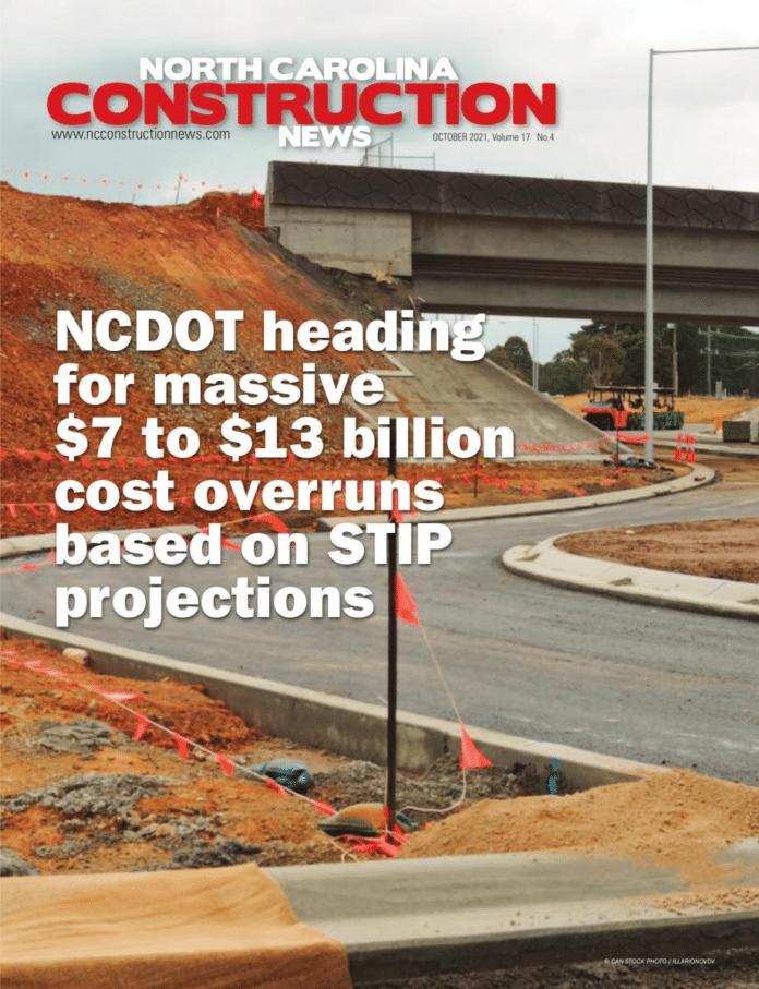 north carolina oct 2021 cover